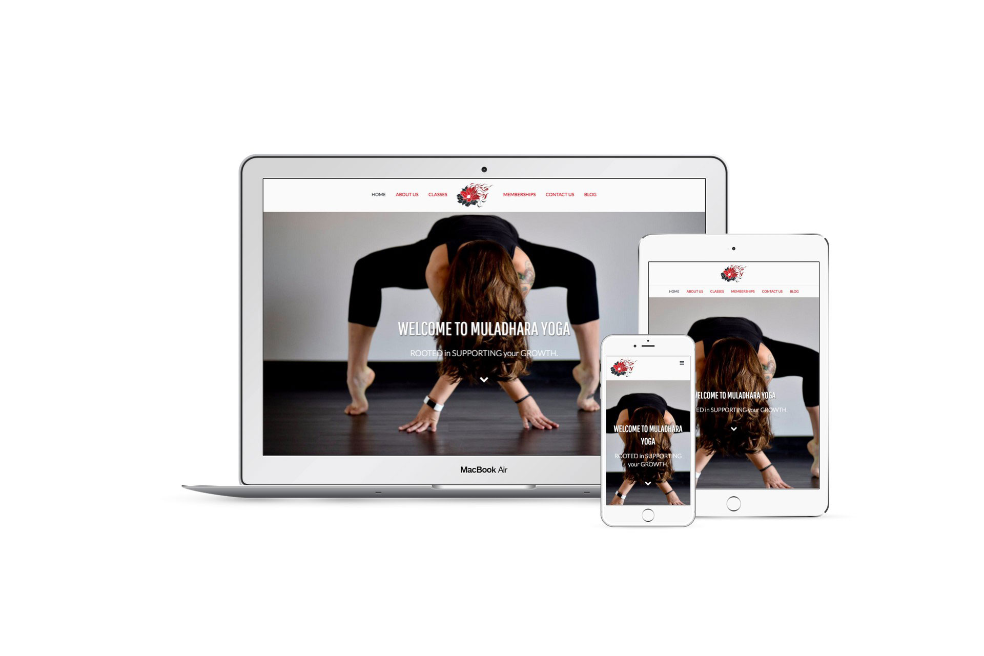 Muladhara Yoga mockup